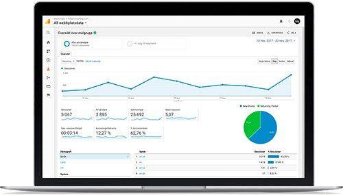 Google Analytics Statistik - Fler Kunder Online